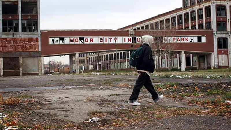 Detroit's infamous Packard plant headed for auction block