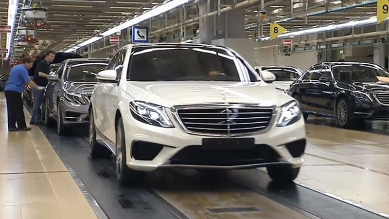 2014 Mercedes-Benz S63 AMG revealed in video