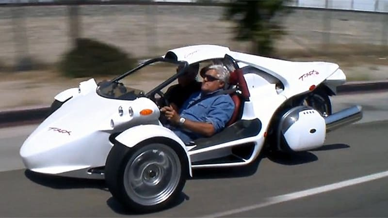 campagna t rex roars into jay leno 39 s garage autoblog. Black Bedroom Furniture Sets. Home Design Ideas