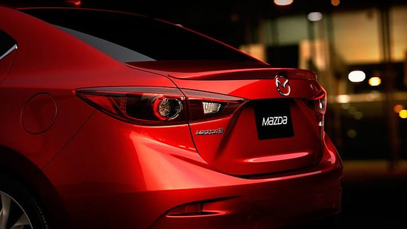 2014 Mazda3 sedan teaser surfaces, authenticity questioned