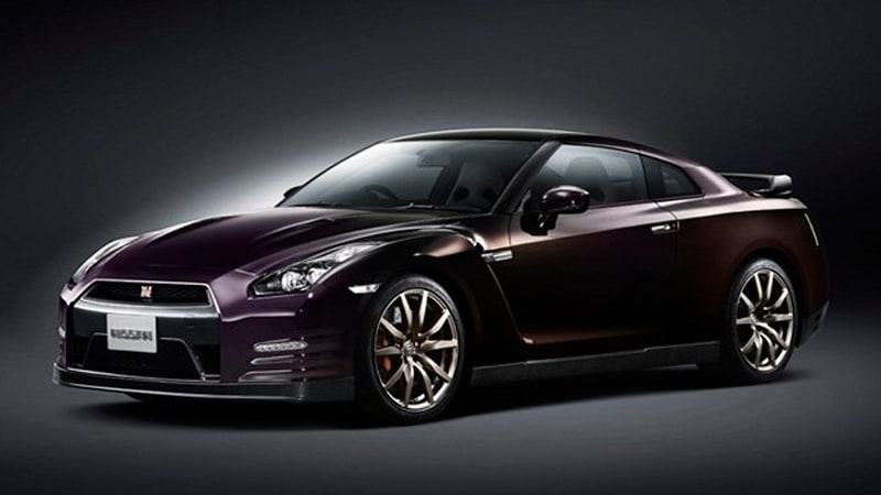 nissan announces limited edition 2014 gt r in midnight. Black Bedroom Furniture Sets. Home Design Ideas