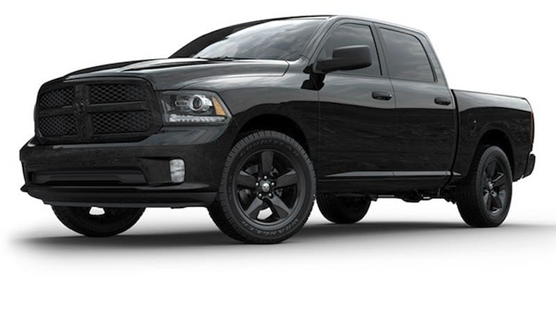 Blacked Out Ram >> 2013 Ram 1500 Black Express Is Midnight In The Garden Of