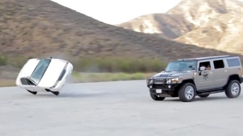 Behind The Scenes Of A Car Rollover Stunt Autoblog - Behind the scenes fast and furious 7 stunts