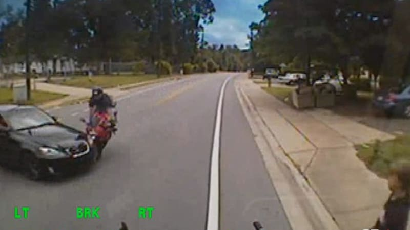 Jack Nicklaus' grandson survives chilling motorcycle crash, caught on camera