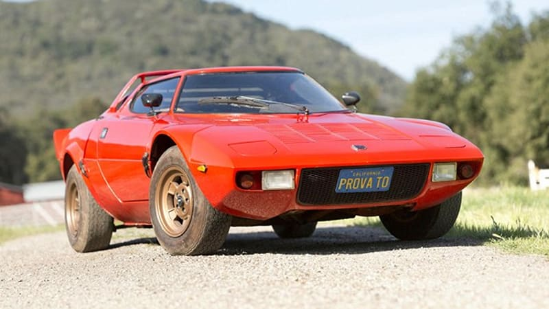 1973 Lancia Stratos Makes For A Super Cool Barn Find Autoblog