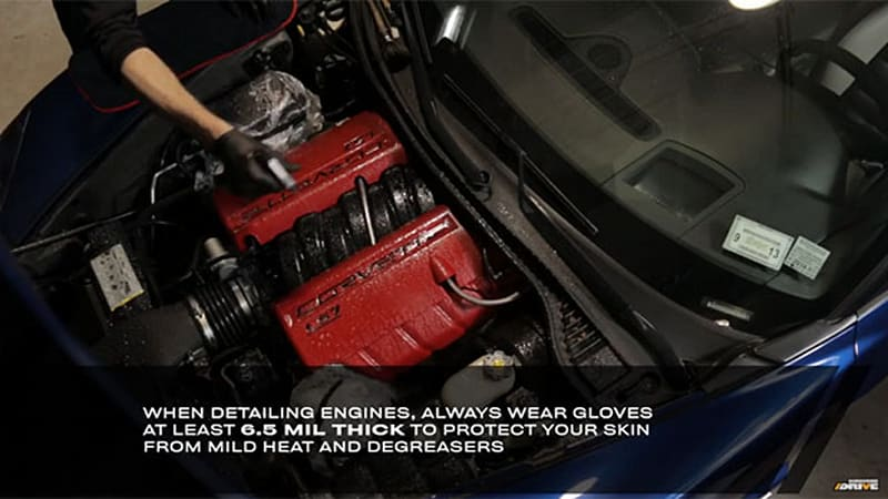 How to make your car's engine look showroom fresh