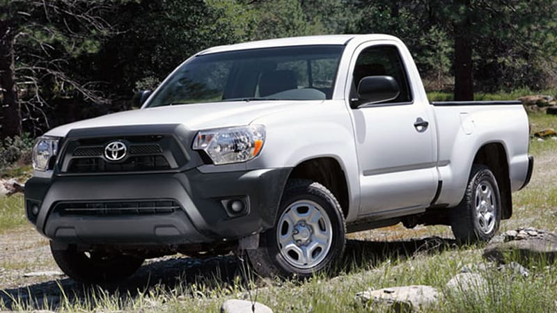 Toyota To Drop Regular Cab Tacoma As Small Pickups Take Another Hit