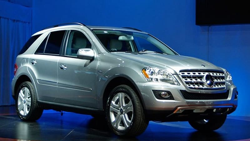 New York Mercedes Benz Ml 450 Hybrid Up To 34 Mph On Battery Alone