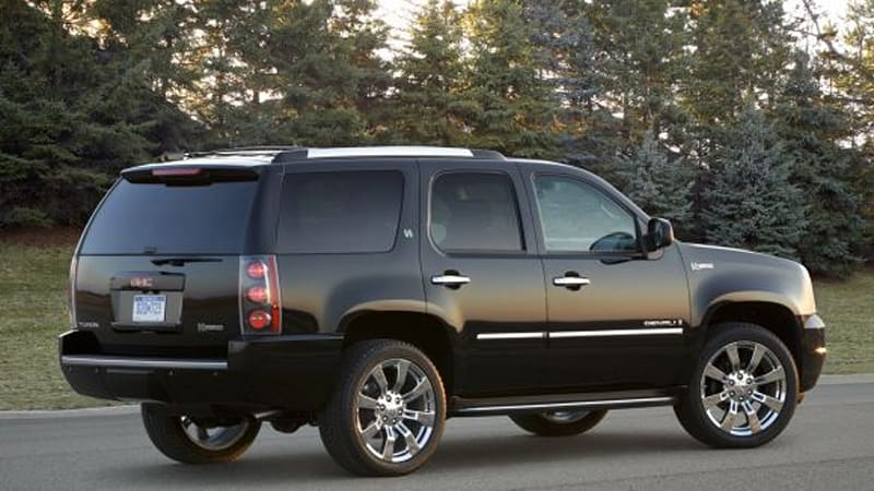 Officially Official Gmc Adds Hybrid Model To Yukon Denali Suv Autoblog