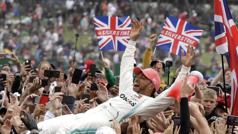 Lewis Hamilton wins record sixth British Grand Prix - Autoblog