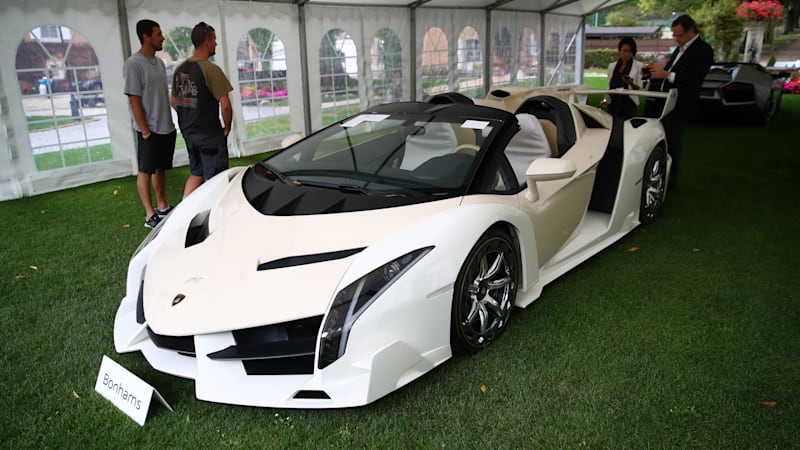 25 exotic cars seized from Equatorial Guinea vice president auctioned for $27 million