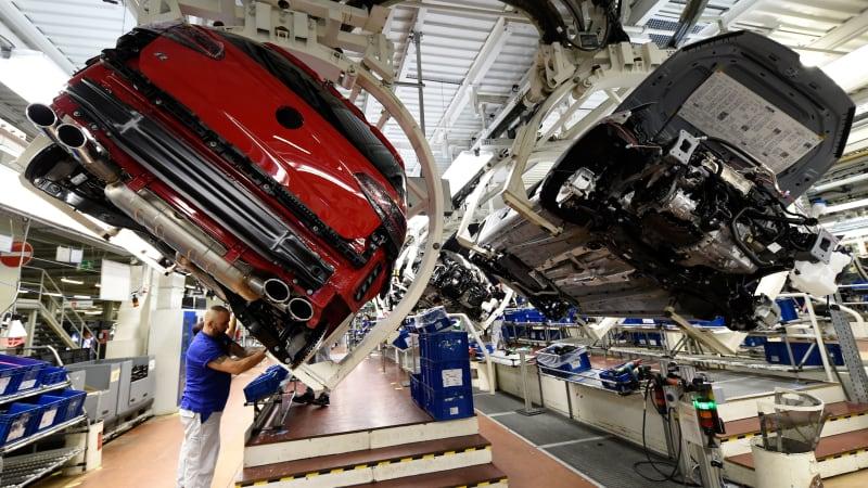 VW speeds up production of next-generation Golf