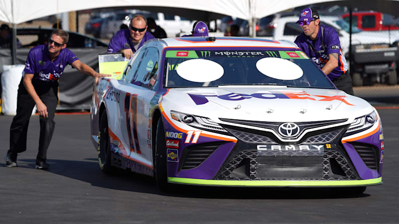 Car To Go >> Nascar Is Pushing To Go Full Hybrid By 2022 Autoblog