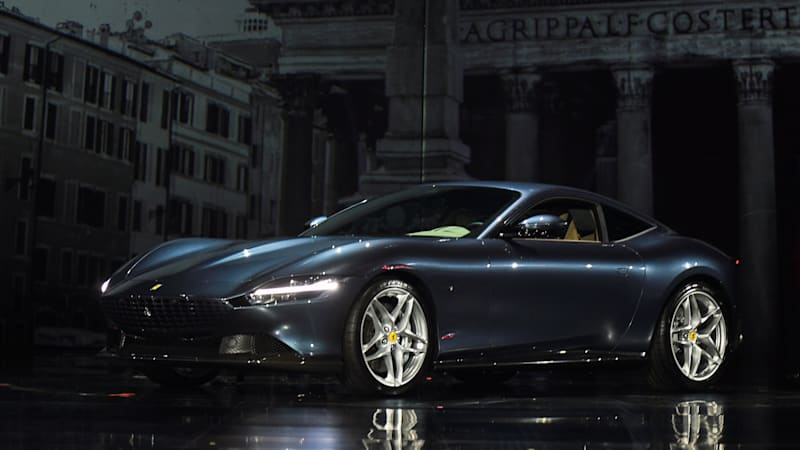 The new Ferrari Roma is an Aston Martin Vantage killer