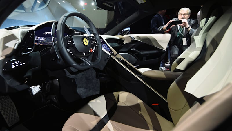 New Ferrari Roma is 200mph+ front-engined coupe