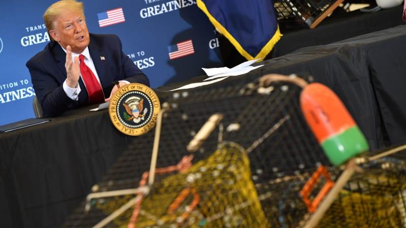 Trump again threatens tariffs on European cars, this time over lobsters 1
