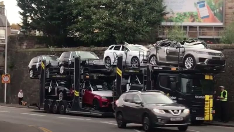 Luxury Suvs Smashed By Bridge Autoblog