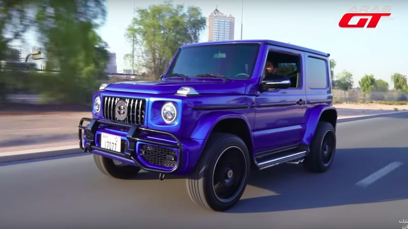 Here's a G63 AMG replica built out of a Suzuki Jimny | Autoblog