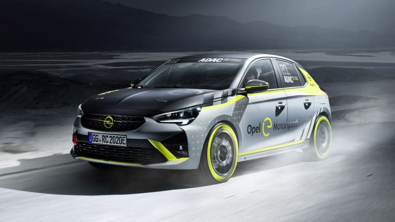 Opel Corsa-e electric car is going rallying next year