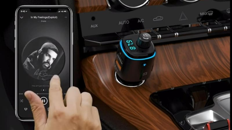 This Bluetooth FM transmitter is only $14 99 | Autoblog