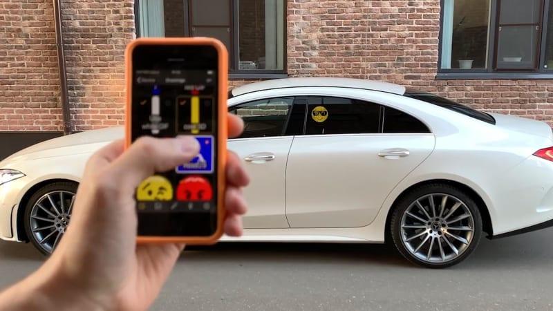 Автомобильный Emoji дисплей в Димитровграде