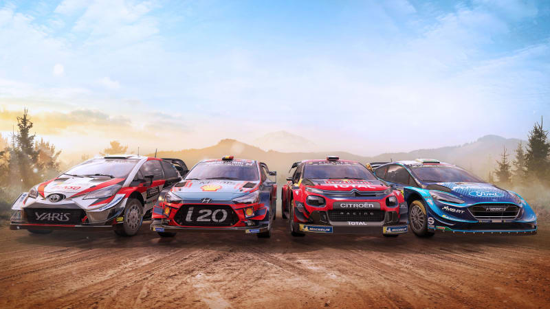 WRC 8 made a rally game addict out of me