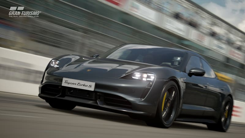 2020 Porsche Taycan Is Coming To 'GT Sport' In October