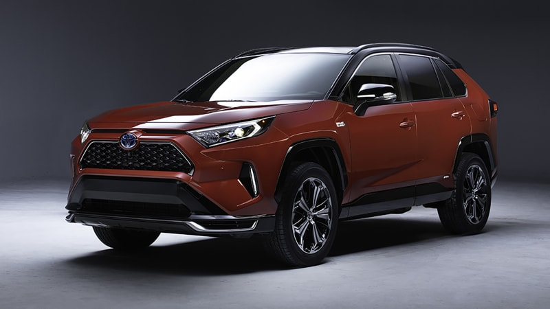 2021 Toyota RAV4 Plug-in Hybrid announced for L.A. Auto Show