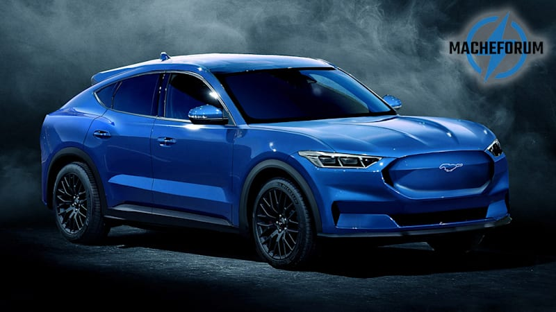 Ford Mach E electric crossover rendered | Autoblog