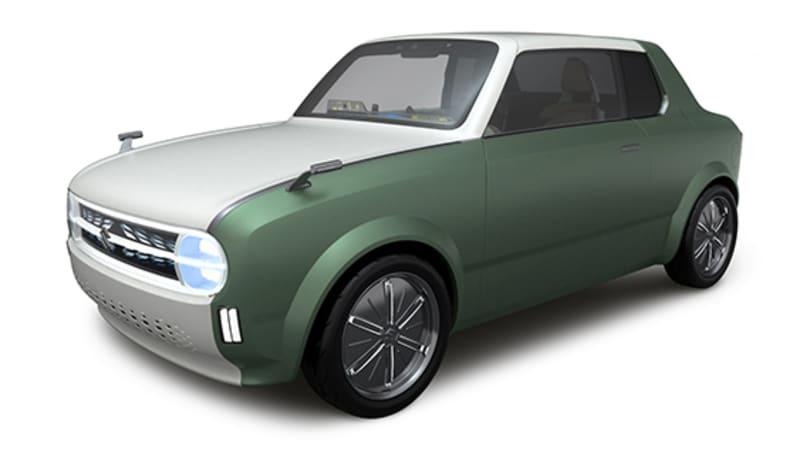 Suzuki brought a retro hybrid coupe and an autonomous van concept to Tokyo Motor Show