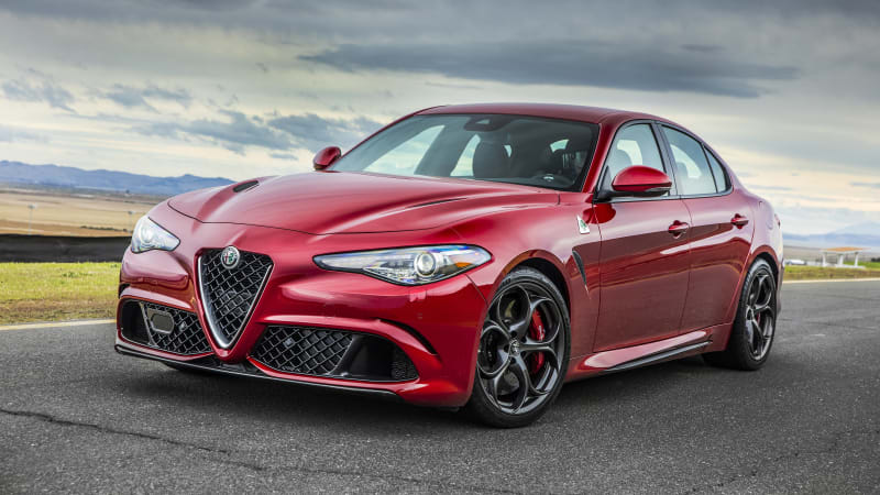 2019 Alfa Romeo Giulia Quadrifoglio Review Power Handling