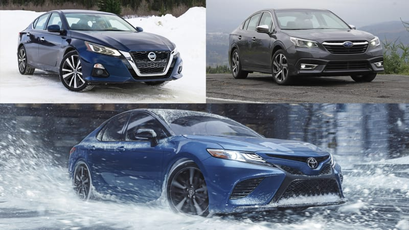 2021 Toyota Camry AWD vs. midsize all-wheel-drive sedans | How they compare on paper