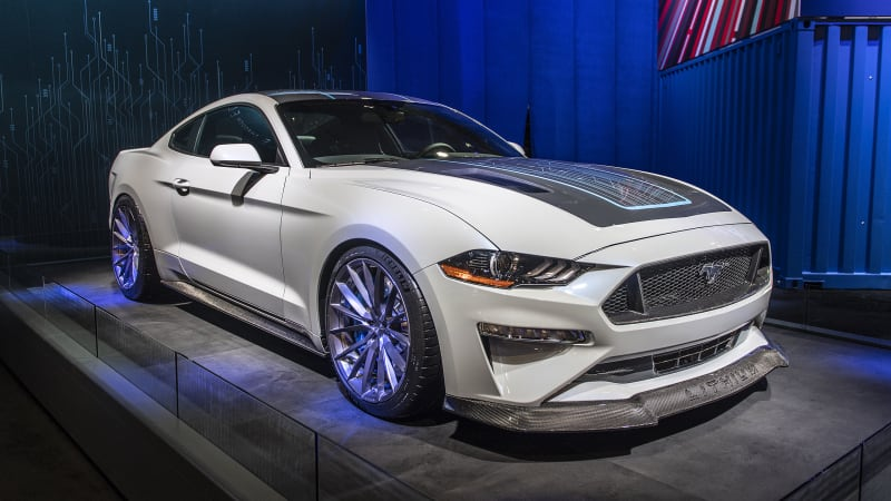 The next-gen Ford Mustang reportedly going all-electric, arriving in 2028