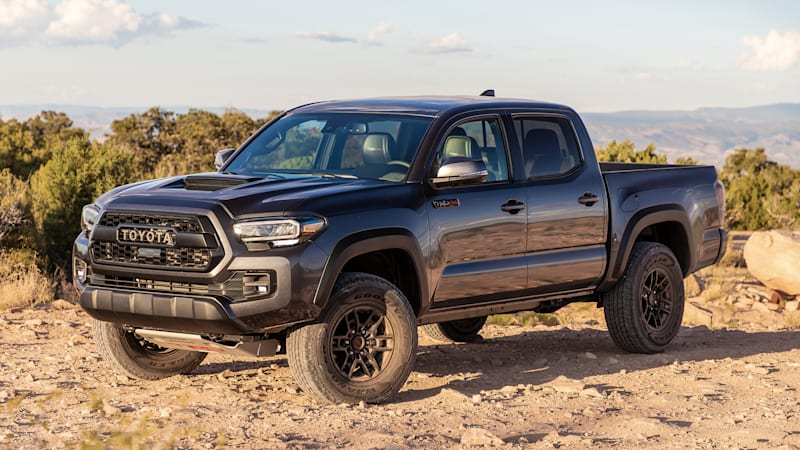 2020 Toyota Tacoma earns Top Safety Pick rating with better headlights