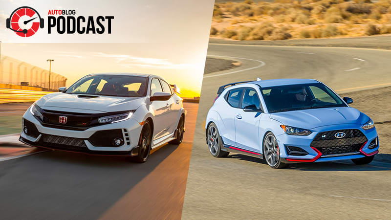 Honda Civic Type R and Hyundai Veloster N | Autoblog Podcast #607