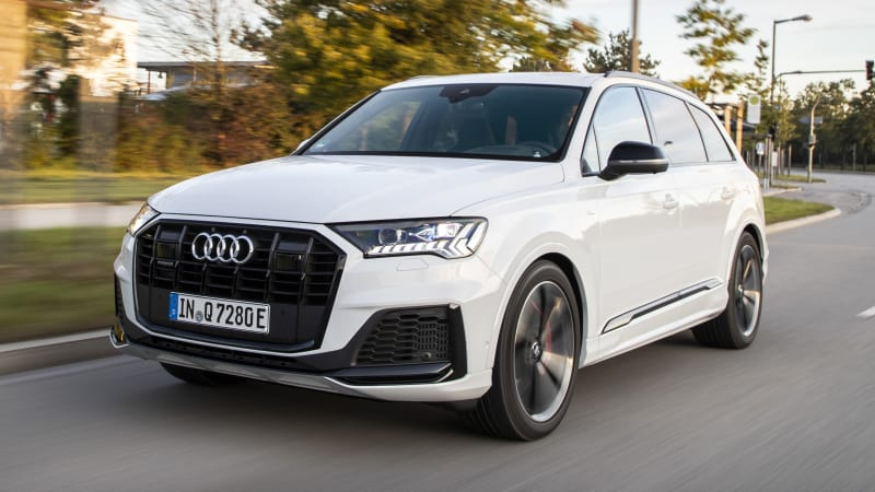 2020 Audi Q7 plug-in hybrid not coming to America