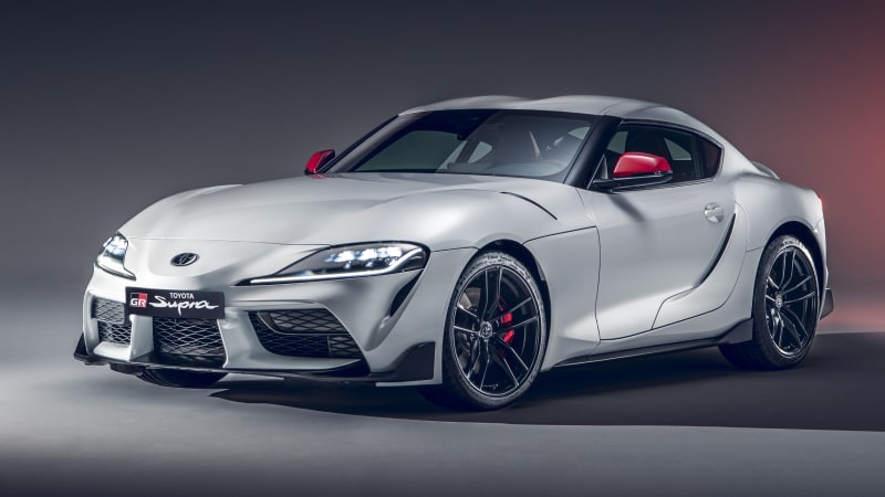 2020 Toyota Supra four-cylinder revealed with less power, less weight