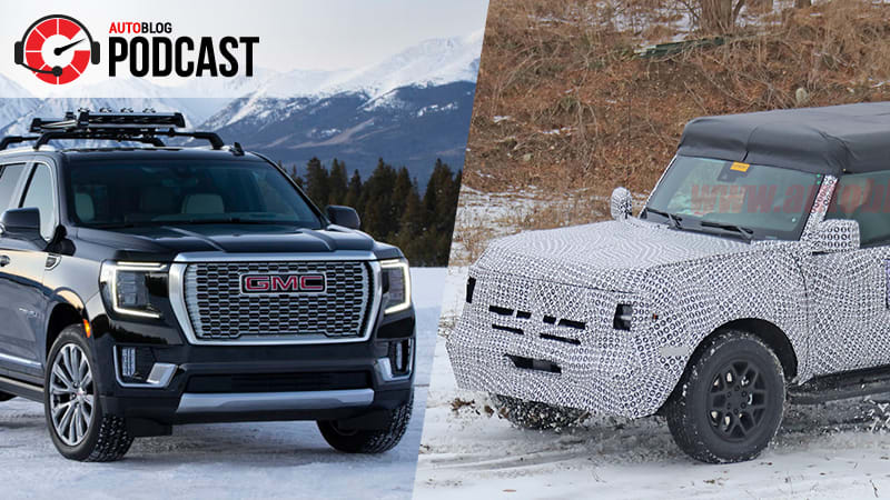Bronco, Yukon, Hummer and a CES recap | Autoblog Podcast #610