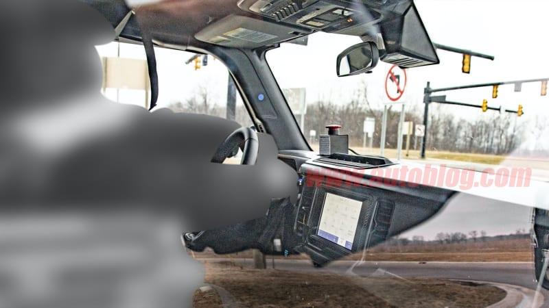 2021 Ford Bronco interior revealed by latest spy photos