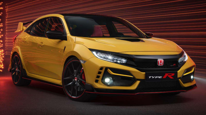 2021 Honda Civic Type R Limited Edition is lighter and brighter 1