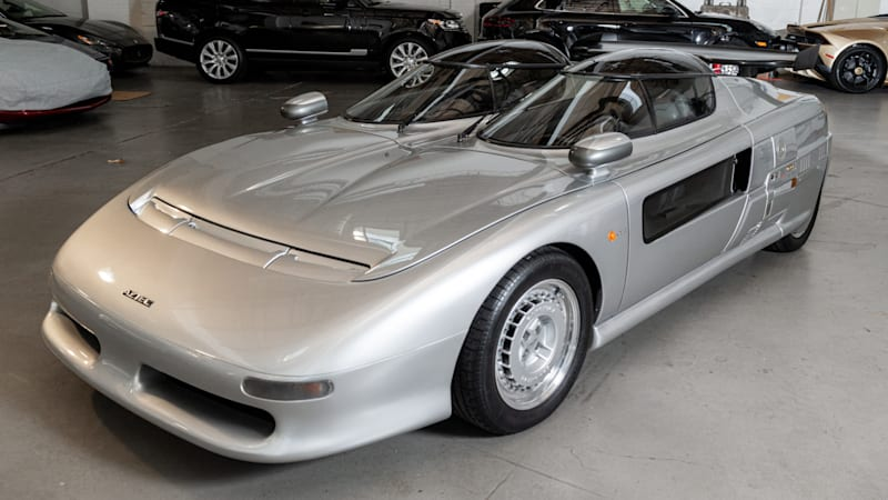 1988 Italdesign Aztec is an insane street-legal concept car for sale