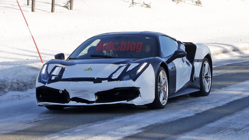 Hybrid Ferrari prototype suggests another electrified model besides SF90 1