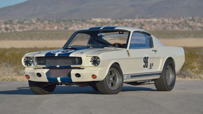 1965 Ford Mustang Shelby GT350R raced by Ken Miles going to auction