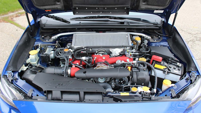 The 2019 Subaru STI S209 has an intercooler sprayer, here's what it looks like when you activate it 1