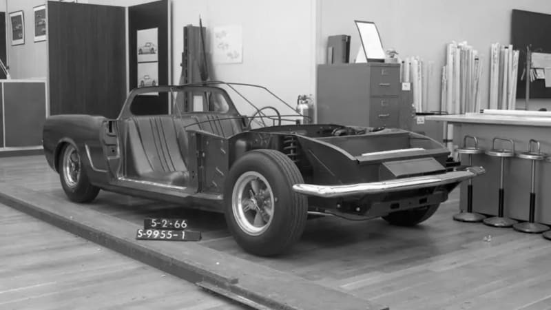 1966 Ford Mustang mid-engine concept is a mystery even to Ford