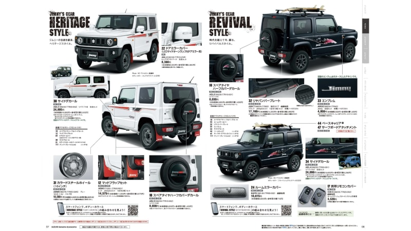 The Suzuki Jimny is even more awesome with these retro graphics 1