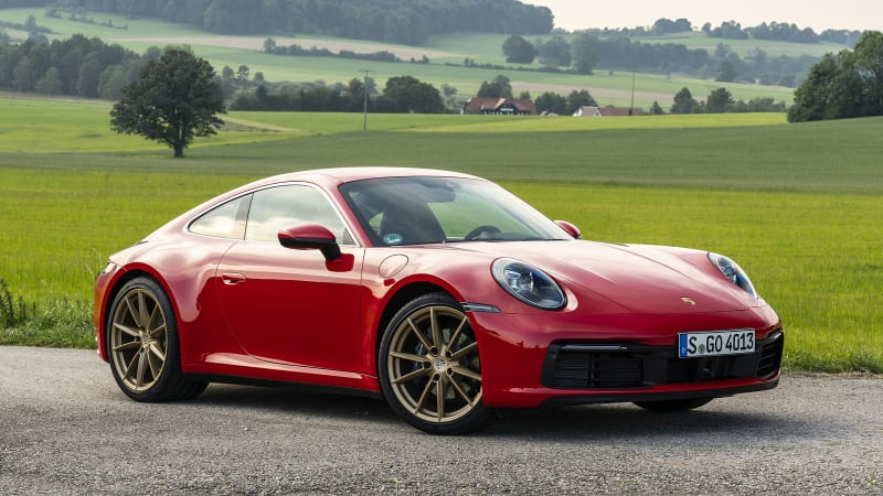 2021 Porsche 911 Carrera Models Get New Convenience And Style Options Autoblog
