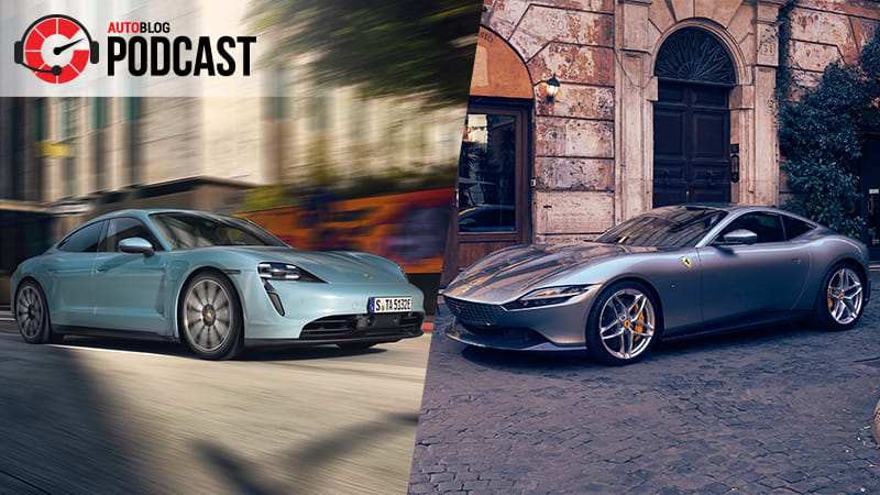 Porsche Taycan 4S, Ferrari Roma and a tuned Ford Ranger | Autoblog Podcast #624 1