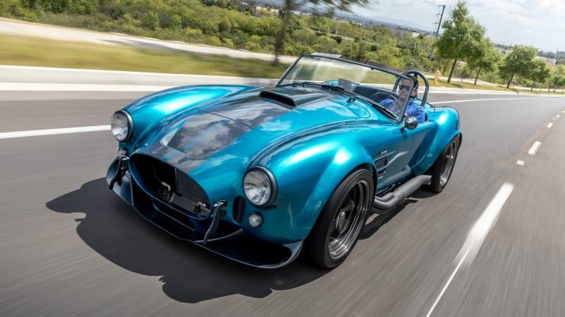 Superformance MKIII-R is a modernized Cobra kit car