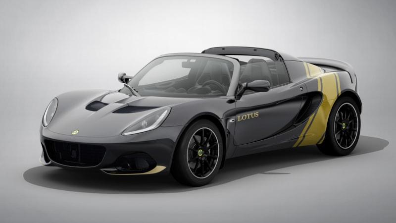 2020 Lotus Elise Classic Heritage Editions celebrate past race car liveries